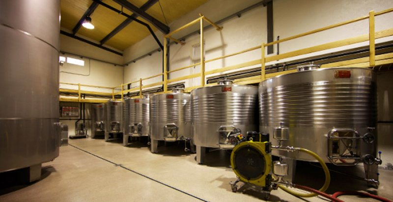The production winery